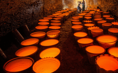 The History of Kilns and Firing